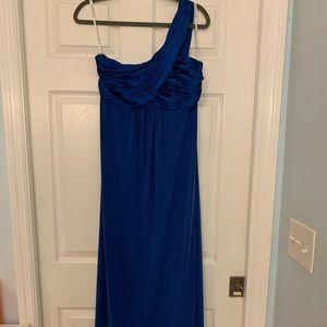 David's Bridal size 10 blue bridesmaid/prom dress